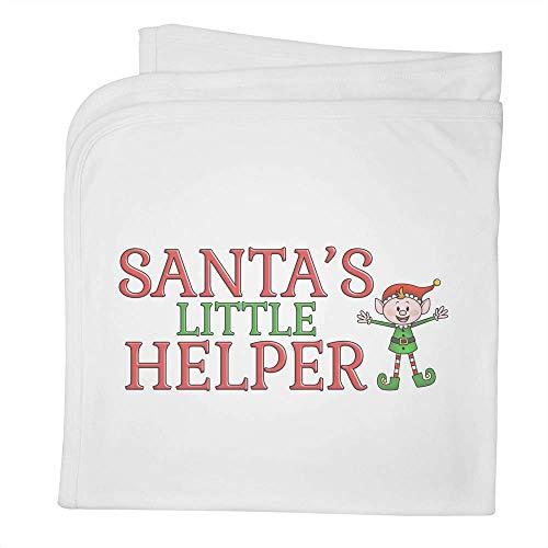 Stamp Press 'Santa's Little Helper' Couverture / châle en Coton pour bébé (BY00000105)