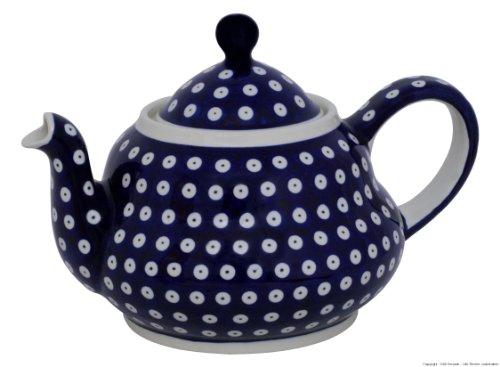 Original Bunzlauer Keramik Teekanne 1.50 Liter im Dekor 42