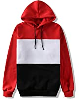 abovewater Men's Long Sleeve Adult Hooded Sweatshirt Hooded Pullover Tops Blouse