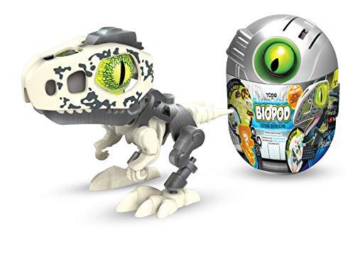 Ycoo Robot Dinosaure dans Son Oeuf Surprise à Construire-Effets Sonores Et Lumineux-8 Biopods Différents à Collectionner-9 cm-Dès 5 Ans, 88073, Multicolore