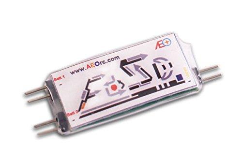 AEO E-OSD simple voltaje OSD en pantalla para RC Micro avión eléctrico FPV modelo avión