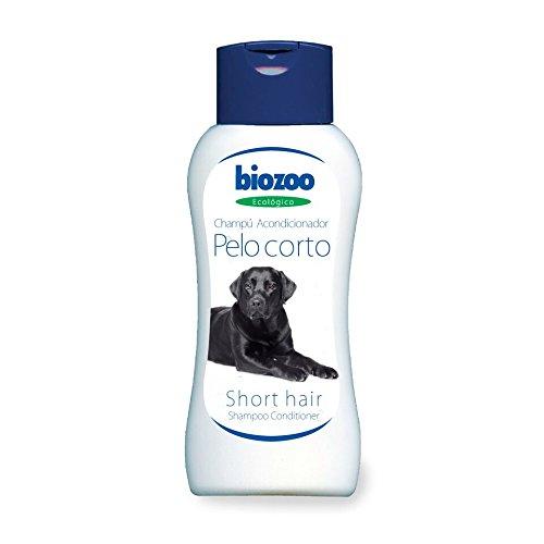 biozoo - CHAMPÚ con ACONDICIONADOR Pelo Corto para Perros 250 ML