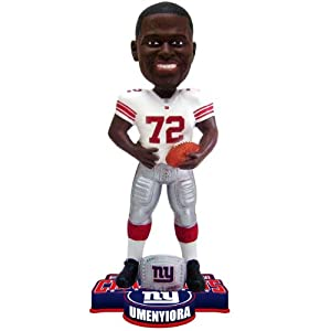 NFL New York Giants Super Bowl XLVI Champions Ring Bobble, O. Umenyiora