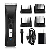 Hair Clippers -Viden Cordless Clippers Hair Trimmer,Beard Trimmer for Men,Electric Haircut Kit Rechargeable Battery, Adjustable Speeds,Grooming Kit,Wireless,Black