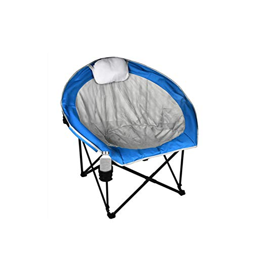 Folding Chair Camping Chair, Widened and Enlarged Steel Frame, Load-Bearing 250 pounds, with Integrated Pillow, Suitable for Outdoor Camping, Travel, Beach, Picnic