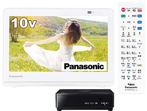 パナソニック 10V型 ポータブル 液晶テレビ プライベート・ビエラ 防水タイプ ホワイト UN-10E10-W
