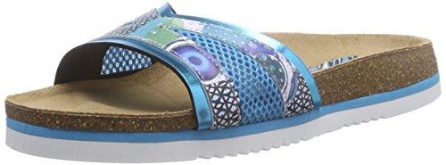 Desigual Damen Shoes_ Bio 11 Nora Zehentrenner, Türkis (5024 Turquesa PALO), 36