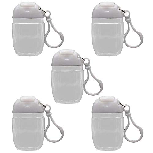 5PCS Travel Bottles Plastic Bottles Portable Container with Leak-Proof Lid Perfect for School and Travel