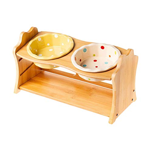 【 3段階調整 】iikuru 猫 犬 食器 食べやすい 猫用 フード ボウル 食器台 小型犬 エサ入れ 斜め ネコ 餌 台 ねこ 餌入れ 皿 y627