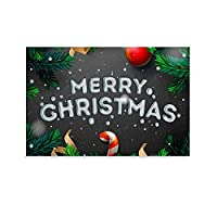 メリークリスマスの背景 キャンバスポスター寝室の装飾スポーツ風景オフィスルームの装飾ギフト,キャンバスポスター壁アートの装飾リビングルームの寝室の装飾のための絵画の印刷 16x24inch(40x60cm)
