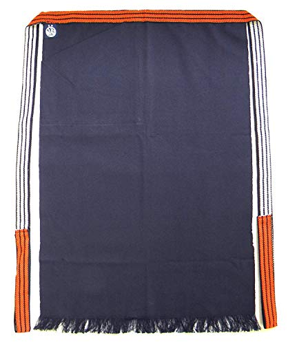 Sewing Inc Japanese Traditional Durable Apron Homaekake for BBQ Grill Kitchen Chef Navy Large-Size with Pocket