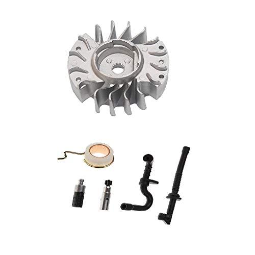 Motorsäge Schwungrad + Öl Kraftstoffleitung Kit Passend Für STIHL 017 018 MS170 MS180