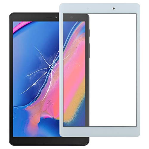 YUNSHUIVICC Front Screen Outer Glass Lens for Galaxy Tab A 8.0 (2019) SM-T290 (WiFi Version)(Black) (Color : White)