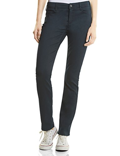 Street One Damen 370949 Envy Straight Jeans, Blau (Dark Blue Clean Wash 11069), W27/L32