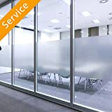 Office Privacy Film Installation