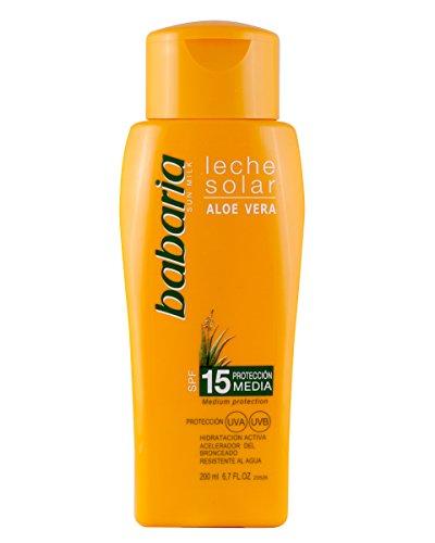 babaria Aloe Vera Sonnenmilch SPF 15 200 ml