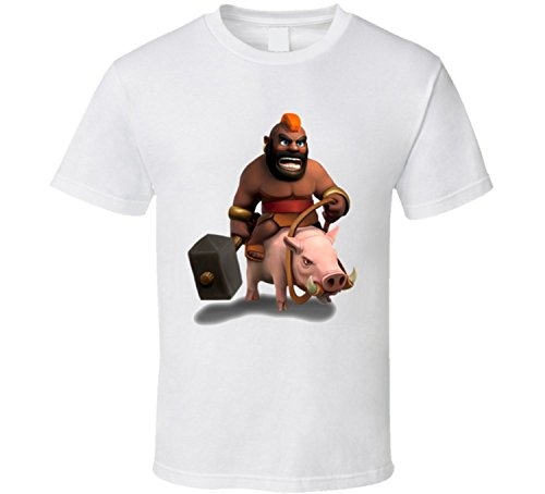 Clash of Clans Video Game Hog Rider T Shirt