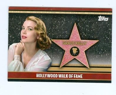 Grace Kelly trading card 2011 Topps #HWF-31