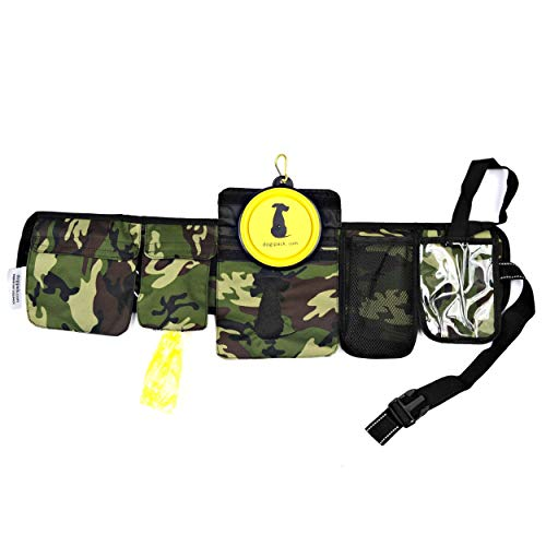 FreshStart DogiPack Hands Free and Organizational Dog Walking Belt (Camouflage)