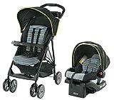 Graco LiteRider LX Baby Stroller & Car Seat Travel System Lightweight Pram & Snugride 30 Baby Car...