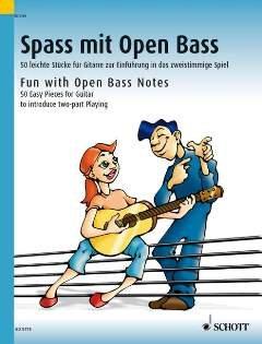 SPASS MIT OPEN BASS - arrangiert für Gitarre [Noten / Sheetmusic] Komponist: KREIDLER DIETER