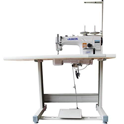Máquina de coser de pespunte totalmente automática máquina de coser eléctrica industrial de coche plano de accionamiento directo por ordenador