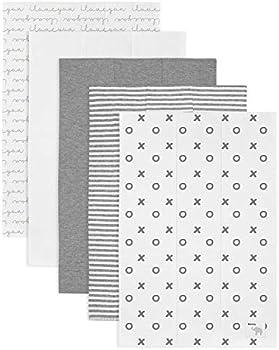 5-Pack Babebay Ultra Absorbent Cotton Burping Cloth