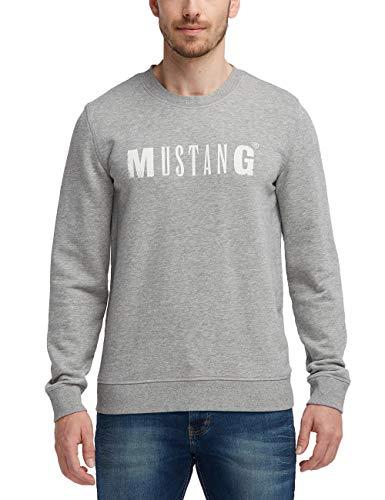 MUSTANG Herren Standard Fit Logo-Sweatshirt