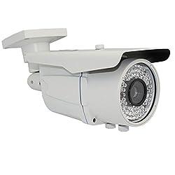 GW Security Professional CCTV 700TVL 13-Inch Sony Exview HAD CCD II, 9-22mm Varifocal Lens, 72pcs IR LED Outdoor