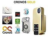 CRONOS Gold Purificador de Aire con Filtro HEPA, Filtro de carbón Activo y nanocatalizador, Motor Mitsubishi, Filtro de 4 Niveles 99,97% de Potencia de Filtro, Modo Nocturno, alérgicos y Fumadores