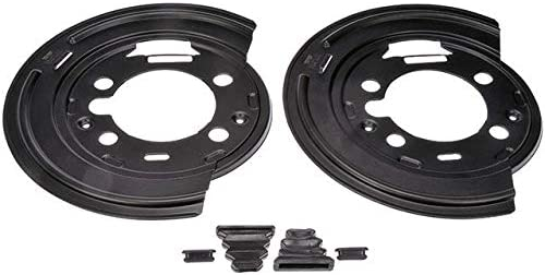 OFFicial mail order Rear Brake Backing Plate - 2 with Compatible Bargain sale H 2003-2009 Piece