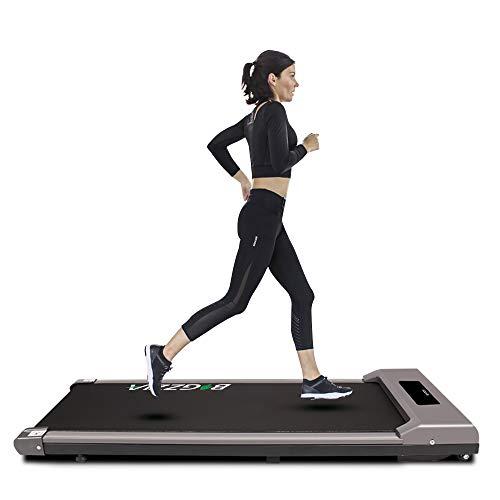 Under Desk Treadmill Motorised Treadmill Portable Walking...