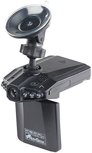 NavGear Dashcam: Auto-DVR-Kamera MDV-2250.IR mit LCD-Display & Bewegungserkennung (Überwachungskamera Auto)