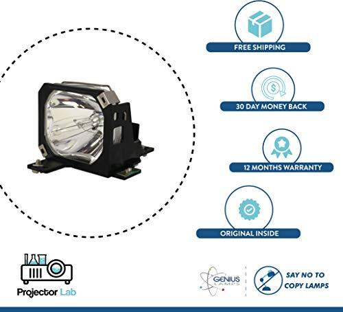 Genius Lampadina di ricambio compatibile per SANYO PLC-XP18 LMP24 con 12 mesi di garanzia