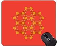 個人化された化学調理のマウスパッド、ペンタゴンゴム製マウスパッド