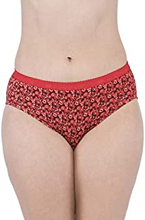 VIP Feelings A104 Printed Cotton Hipster Assorted Panties - Pack of 6
