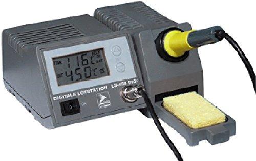 Digitale Lötstation ''LS-450 digi'', 230 V/50 Hz, 48W Lötkolben, grau