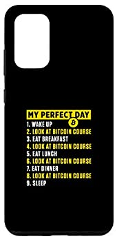 Galaxy S20+ My Perfect Day ToDo List Bitcoin BTC Course Cryptocurrency Case