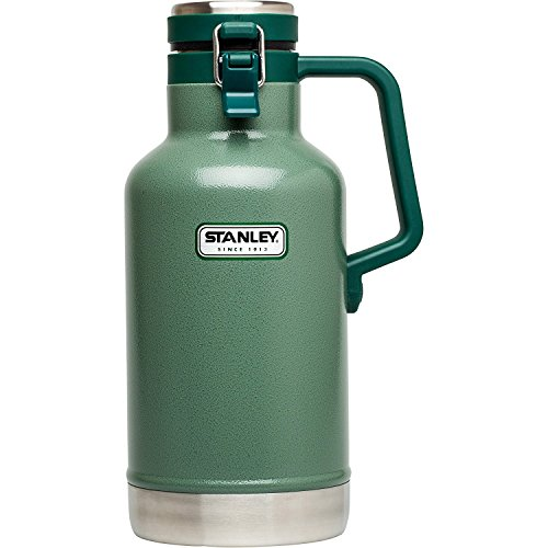 STANLEY(スタンレー) 真空断熱ボトル グロウラー VACUUM STEEL GROWLER 1.89L ステンレス製携帯用魔法瓶 シルバー