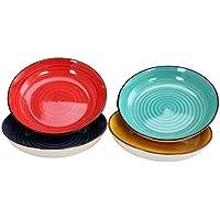 4-Piece Laurie Gates Color Speckle 8.25 Inch Bowl Set