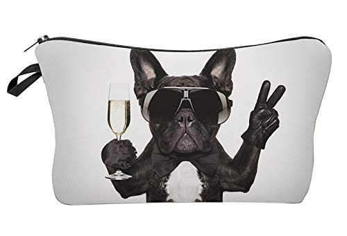 Leuchtbox Beauty Case, French Glamour Bulldog (Multicolore) - LB00264