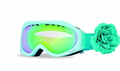 Vrouwen 'Roxy The Mist Skibril voor dames grijs met blauw multilayer glas