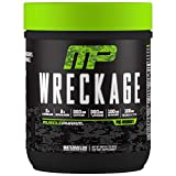 MusclePharm Wreckage Pre-Workout Powder, Superior Focus and Sustained Pump, Watermelon, 25 Servings
