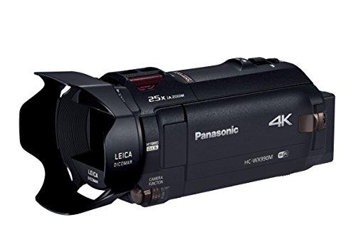 パナソニック デジタル4Kビデオカメラ WX990M 64GB ワイプ撮り あとから補正 ブラック HC-WX990M-K