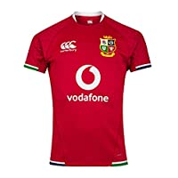 canterbury of New Zealand Men's British and Irish Lions Rugby Test Jersey, Tango Red, L by Canterbury