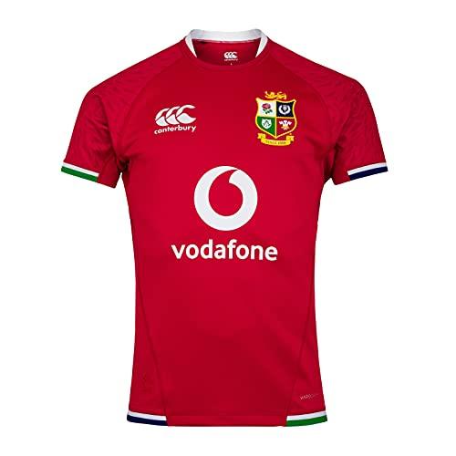 Canterbury Herren British and Irish Lions Rugby Test Jersey, Rot-Tango Red, M