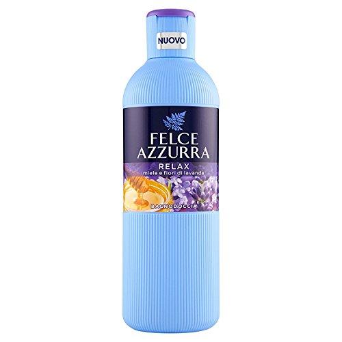 FELCE AZZURRA Bain De Miel Relax / Lavande 650 Ml Bain Du Produit Et De Douche
