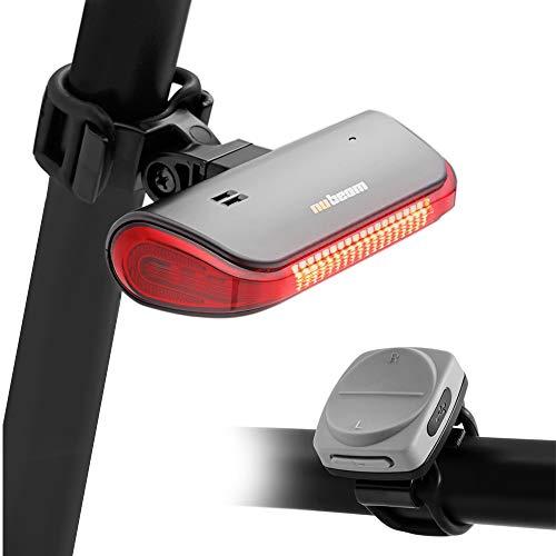 nubeam NB-600 Bike Bicycle Turn Signals,...
