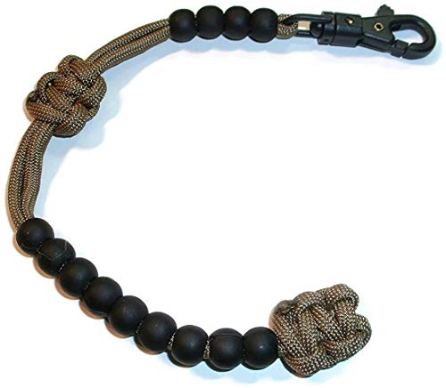 RedVex Ranger Pace Counter Beads 10 inches (ungutted) - ABS Clip - Choose Your Color - Customization Available (Coyote Brown)