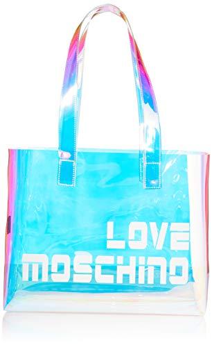Love Moschino BORSA TPU, Bolso de mujer, Multicolor, Normale